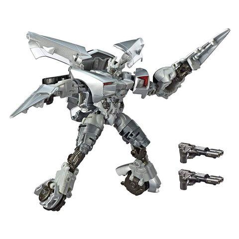 Робот Трансформер Сайдсвайп (Sideswipe) Делюкс - Темная Сторона Луны, Hasbro