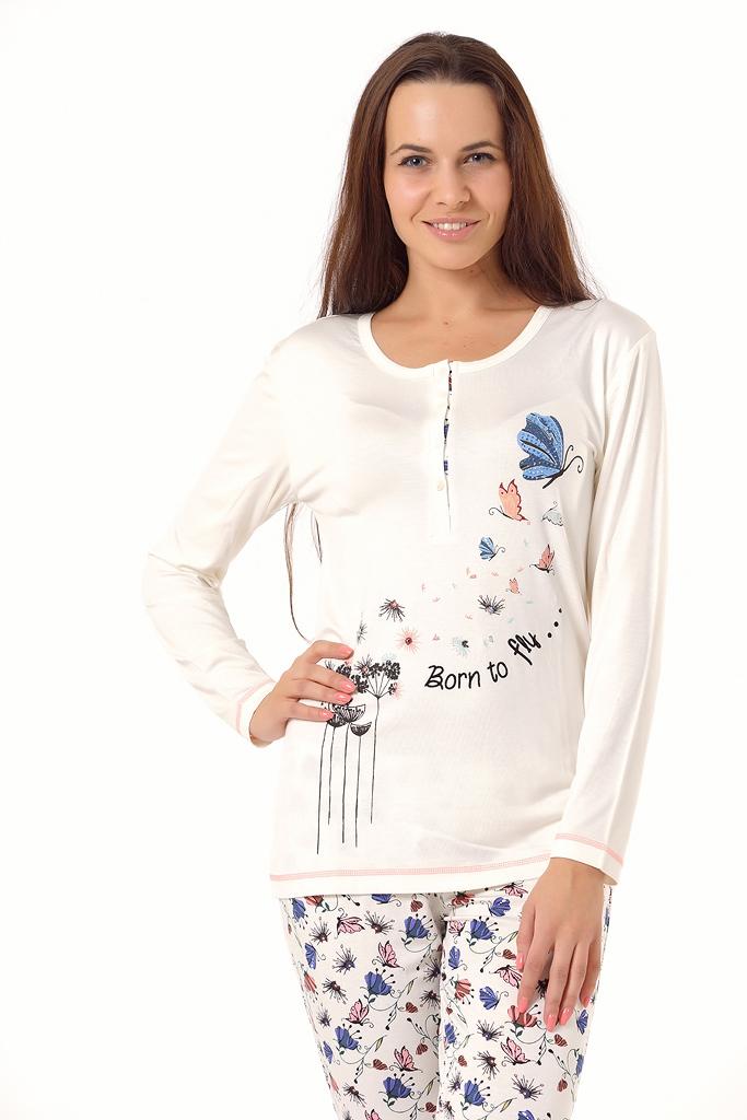 Женская пижама с бабочками Bacirubati (Домашние костюмы и пижамы)