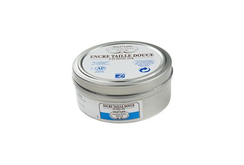 Краска офортная 200 мл жестяная банка, голубой церулеум Lefranc&Bourgeois