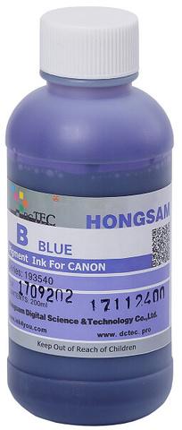 Чернила DCTec PFI-1700B голубой (blue). 200мл пигмент (193540)