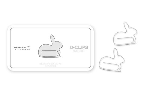 Midori D-Clips Rabbit 43148-006 - купить скрепки с доставкой по Москве, СПб и России