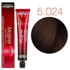 L'Oreal Professionnel Majirel French Brown 5.024 (Светлый шатен натуральный перламутрово-медный) - Краска для волос