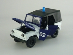 UAZ-469 DPS Road Police 1:43 Agat Mossar Tantal