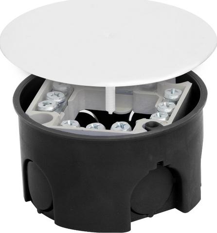 Распаячная коробка СП D73х42мм, крышка, клеммник, IP20, TDM