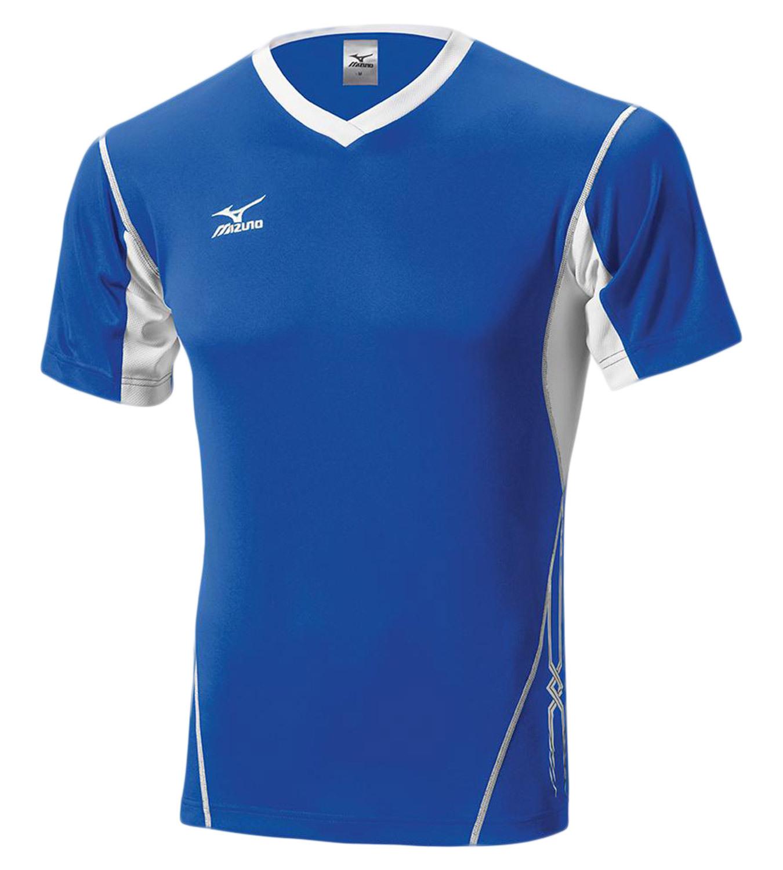 Мужская волейбольная футболка Mizuno Premium Top (V2EA4501M 71) синяя