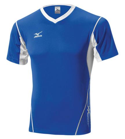 Волейбольная футболка Mizuno Premium Top мужская синяя
