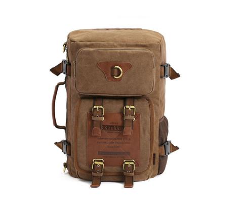 Вместительный мужской рюкзак -трансформер из качественного текстиля