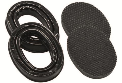 Гелевые обтюраторы для наушников серии 3M™ PELTOR™ ComTac XPI (комплект), чёрные