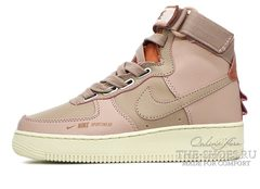 Кроссовки женские Nike Air Force 1 Utility Raw Pink