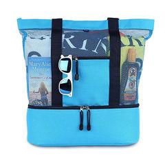 Пляжная сумка с отделением для охлаждения напитков