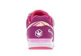 Кроссовки для девочек на липучках Фиксики, цвет сиреневый. Изображение 4 из 5.