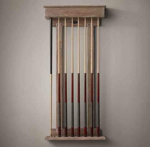 Brunswick Exclusive Tournament Billiards Table Cue Rack
