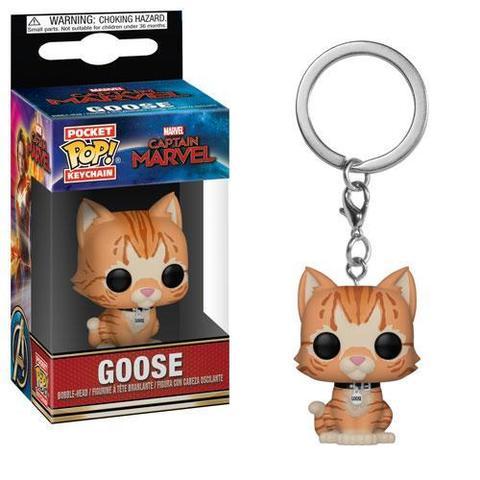 Брелок Funko POP! Captian Marvel: Goose the Cat