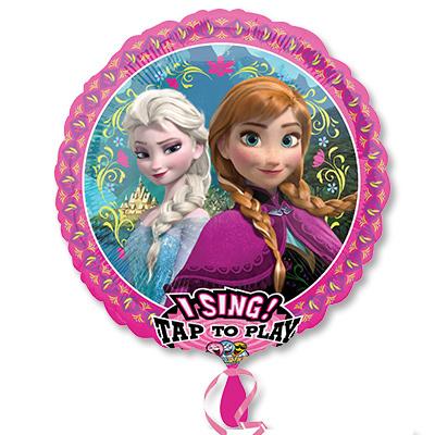Музыкальный воздушный шар Frozen