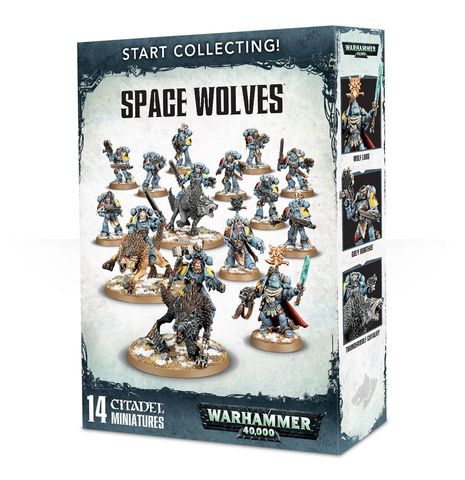 Start Collecting! Space Wolves (99120101196)