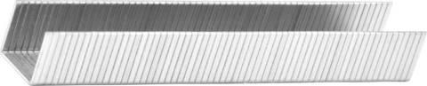 KRAFTOOL 6 мм скобы для степлера плоские тип 140, 1000 шт
