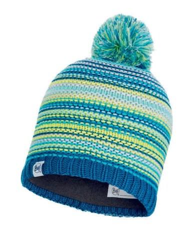 Вязаная шапка с флисовой подкладкой детская Buff Hat Knitted Polar Amity Turquoise Jr