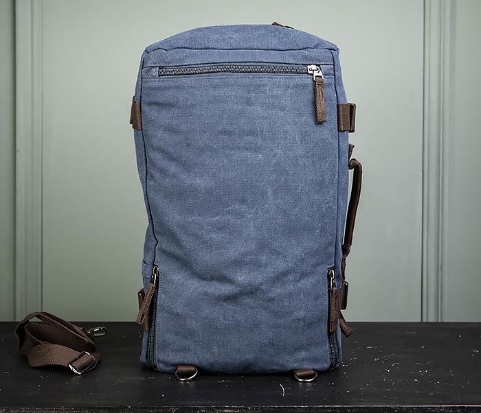 BAG479-3 Большая мужская сумка рюкзак трансформер фото 10