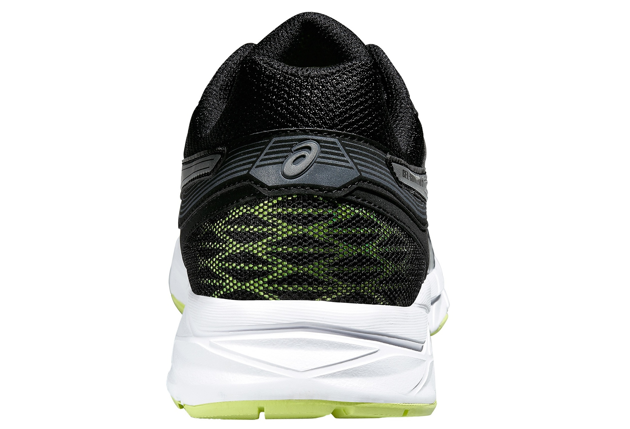 Мужские беговые кроссовки Gel-Contend 3 (T5F4N 9993) черные фото пятка