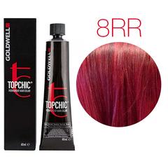 Goldwell Topchic 8RR (рубин) - Cтойкая крем краска 60мл