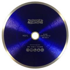 Алмазный диск по керамограниту 125х1,6х22,2  MESSER KG/L