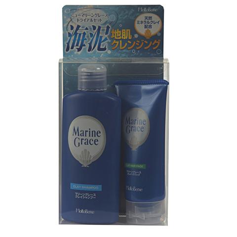 MOLTOBENE Подарочный набор Marine Grace для лечения и стимуляции роста волос (шампунь 150г+ маска 90г) Marine Grace