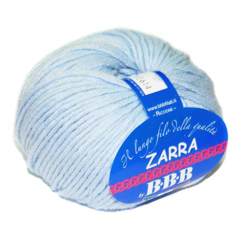 Пряжа BBB Filati Zarra 86277 нежно-голубой