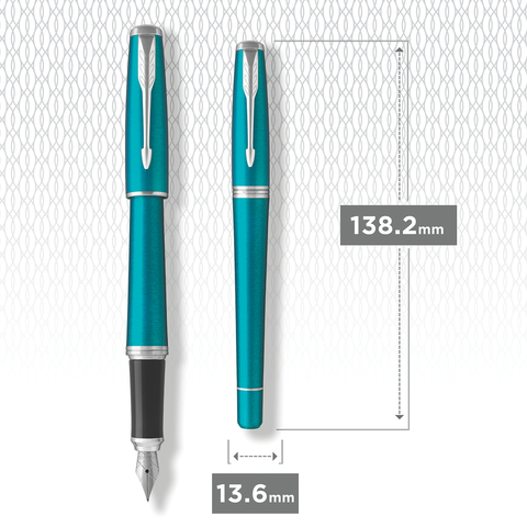 Перьевая ручка Parker Urban Vibrant Blue CT123