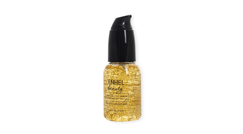 Enhel Beauty golden gel-mask