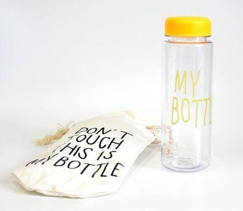 Бутылка для напитков My Bottle 600 мл (желтая)