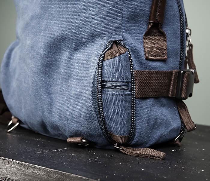 BAG479-3 Большая мужская сумка рюкзак трансформер фото 12