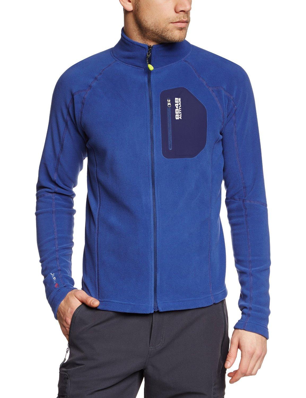 Мужская толстовка 8848 Altitude HOLLOW MICRO blue (790740)