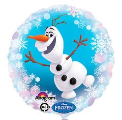 А 18 Круг Холодное Сердце Олаф /Frozen Olaf s60 / 1шт