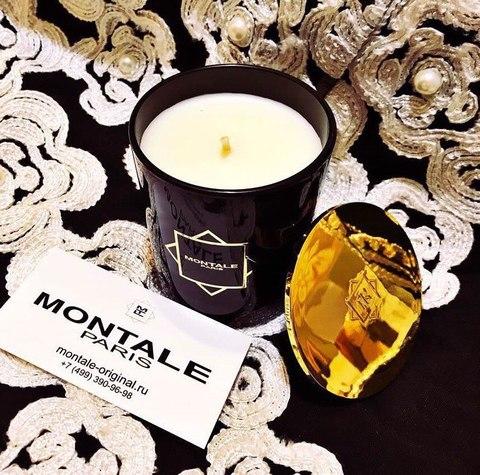 Свеча Montale Black Aoud
