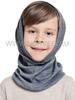 Баф с шерстью мериноса Norveg Монстр Серый женский и детский