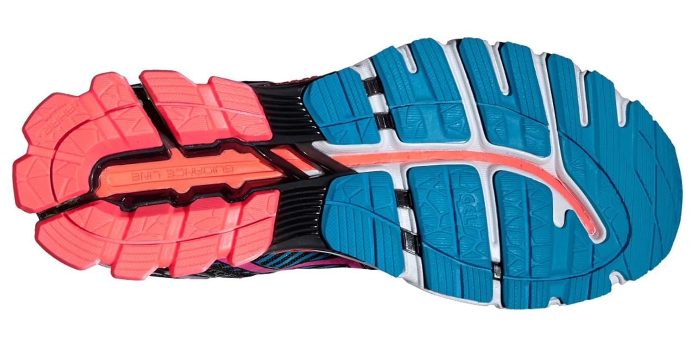 Женские кроссовки для бега Asics Gel-Kinsei 6 (T692N 9034) черные фото