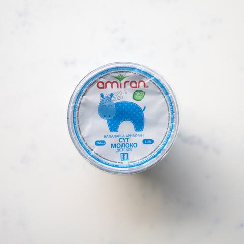 Молоко детское Immunivit Amiran 3,2%, 230 мл