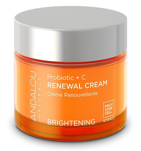 Восстанавливающий крем «Пробиотики + витамин С», Andalou Naturals