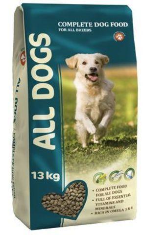 ALL DOGS Корм для собак 13 кг.