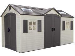 Пластиковый сарай-гараж LifeTime 15x8DD