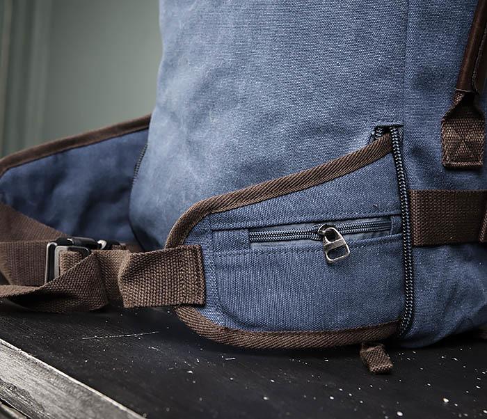 BAG479-3 Большая мужская сумка рюкзак трансформер фото 14