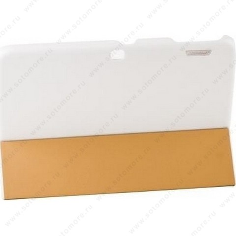 Чехол-книжка Jisoncase Executive для Samsung Galaxy Tab 3 10.1 P5200/ P5210 белый JS-S52-03H00