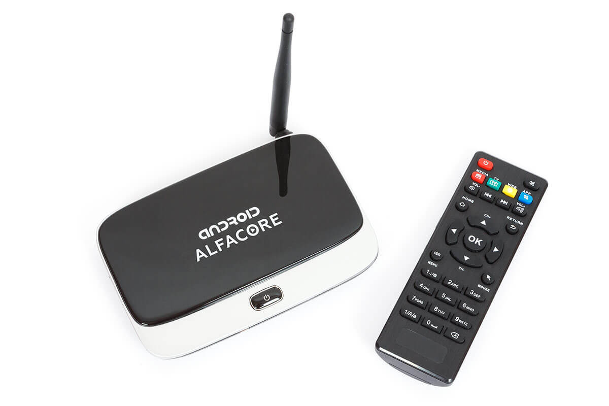 Фото приставки tv box cs918. Смарт приставка Alfacore CS918 с пультом