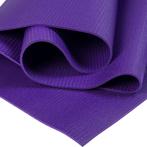 Каучуковый йога коврик Elements Фиолетовый 183*61*4мм