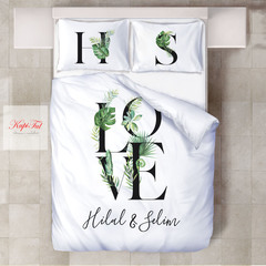 КПБ Adore Satin Love Yesil