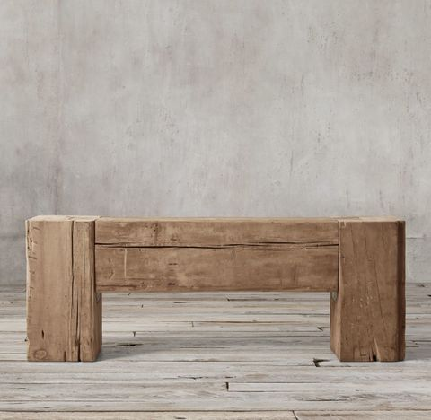 Reclaimed English Beam Console Table