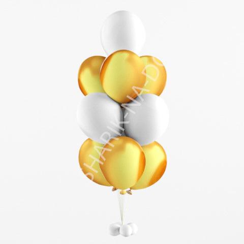 Шары под потолок золотые Фонтан из золотых и белых шаров Фонтан_из_золотых_и_белых_шаров.jpg
