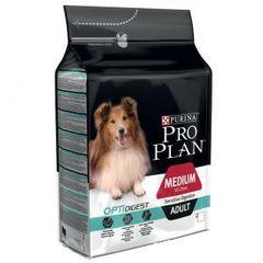 Purina Pro Plan Medium Adult Sensitive Digestion для взрослых собак средних пород с чувствительным пищеварением, ягненок