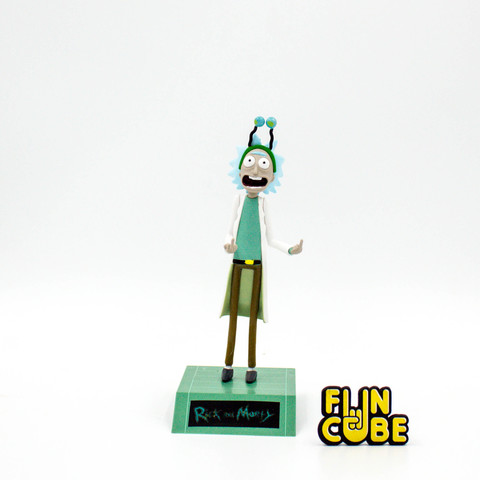 Миниатюра Rick and Morty Rick 16см