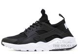 Кроссовки Мужские Nike Air Huarache Run Ultra Hyper Black White